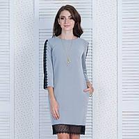 "Красивое демисезонное короткое платье размер S ""Сабина"", фото 1"
