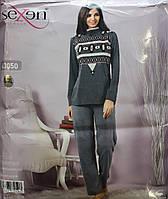 Женская пижама с длинным рукавом и брюками SEXEN 63050