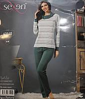 Женская пижама с длинным рукавом и брюками SEXEN 63140