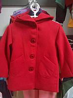 Пальто кашемировое на девочку