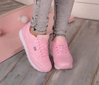 Розовые женские кроссовки Reebok