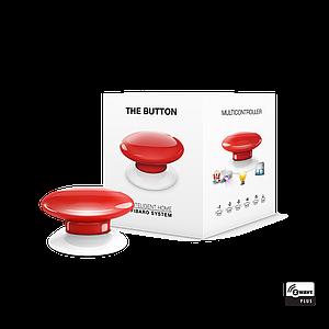 FGPB-101-3 FIBARO The Button (red), Z-Wave багатофункціональна кнопка (червона)