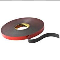 Двухсторонняя клейкая лента (скотч) 5952F ( толщ. =1,1мм) 25 мм. х 33 м. Автомобильный скотч. Монтаж молдингов