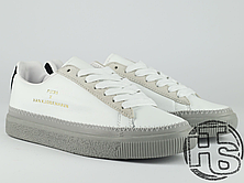 Мужские кеды Puma Clyde Stitched x Han Kjøbenhavn White-Drizzle 364474-02, фото 3