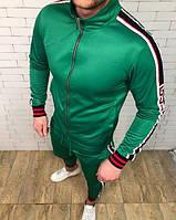 Спортивный костюм GUCCI D2792 зеленый