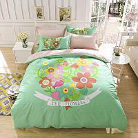 Комплект постельного белья Flowers (полуторный) Berni