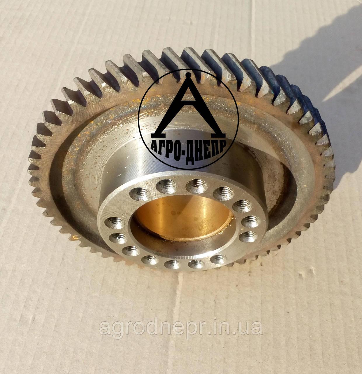 Шестерня привода топливного насоса со втулкой Д-65 Z-56 Д04-С06 СБ ЮМЗ