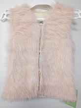 Жилетка дівч  Моналіза КФ-02, 128 рожевий травичка