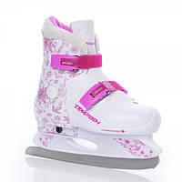 Детские раздвижные коньки Tempish Fur Expanze Girl - Чехия - высокопрочная конструкция носка, защита ноги