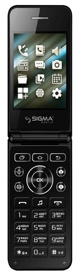 Мобильный телефон Sigma mobile X-Style 28 Flip black, фото 1