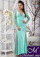 Шикарное вечернее платье в пол (р. S, M, L) арт. 11091