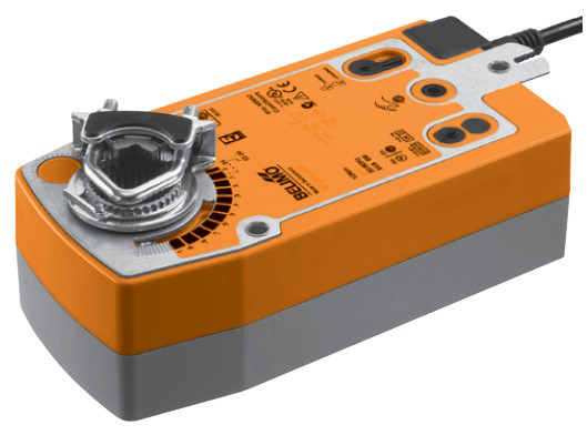 SF24A-S2 Електропривод Belimo c поворотною пружиною + дод контакт