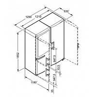 Холодильник Liebherr SBSbs 7353 (SKbs 4210 + SBNbs 3210), фото 5