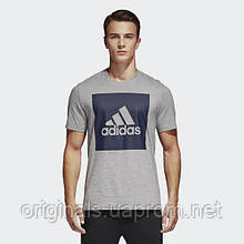 Футболка Adidas Essentials Box Logo M S98725 - 2018