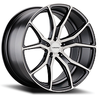 VARRO VD01 Gloss Black with Brushed Face