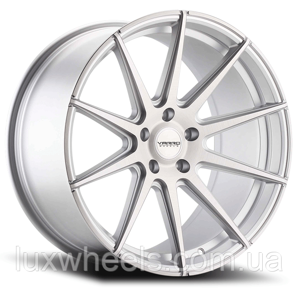 VARRO VD10 Matte Silver with Brushed Face