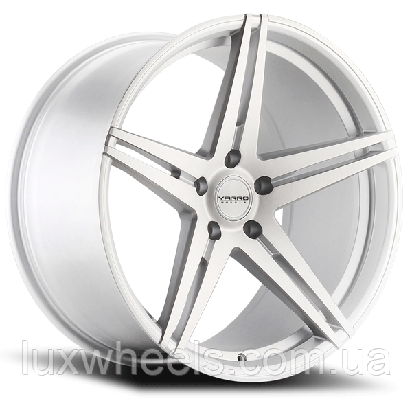 VARRO VD03 Matte Silver with Brushed Face