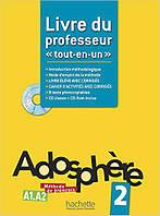 Adosphere : Niveau 2 Livre du professeur