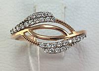 Кольцо золотое 585 проба, 18,0 размер