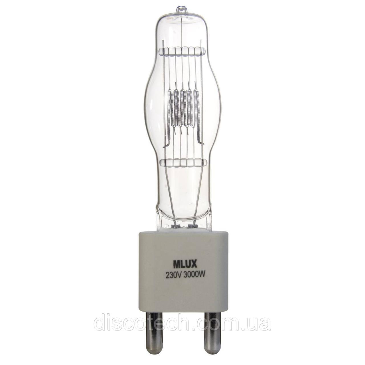 Лампа галогенная, 3000W/230V G38 MLux