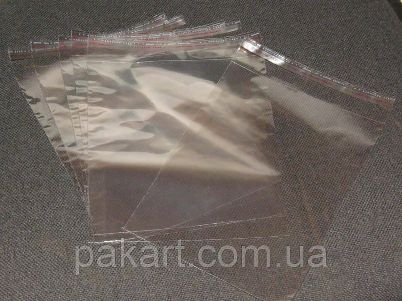 Пакет полипропиленовый 300х400мм + клапан с клейкой лентой