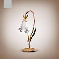 Настільна лампа в стилі флористика 541