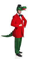 Крокодил Гена мужской карнавальный костюм
