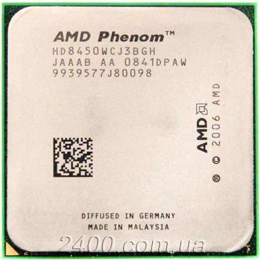 Процессор AMD Phenom X3 8450 (2100MHz, сокет AM2/AM2+) HD8450WCJ3BGH