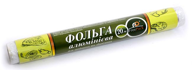 """Фольга 280 мм """"20"""" 15 метров ТМ """"FreePack"""" втулка без офсета"""