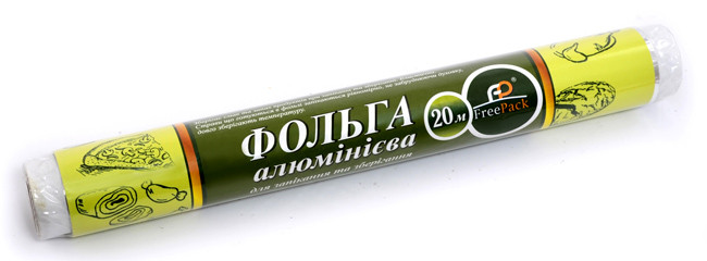 "Фольга 280 мм ""20"" 10 метров ТМ ""FreePack"""