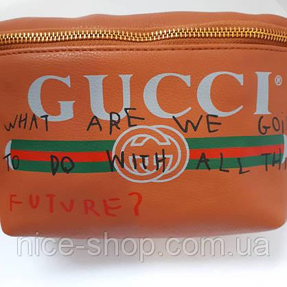 Сумка на пояс Gucci, фото 2