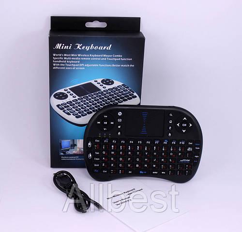 Беспроводная Клавиатура KEYBOARD wireless MWK08/i8 + touch