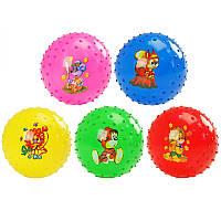 М'яч дит їжачок-8  R 07343 з малюн. 55 гр.