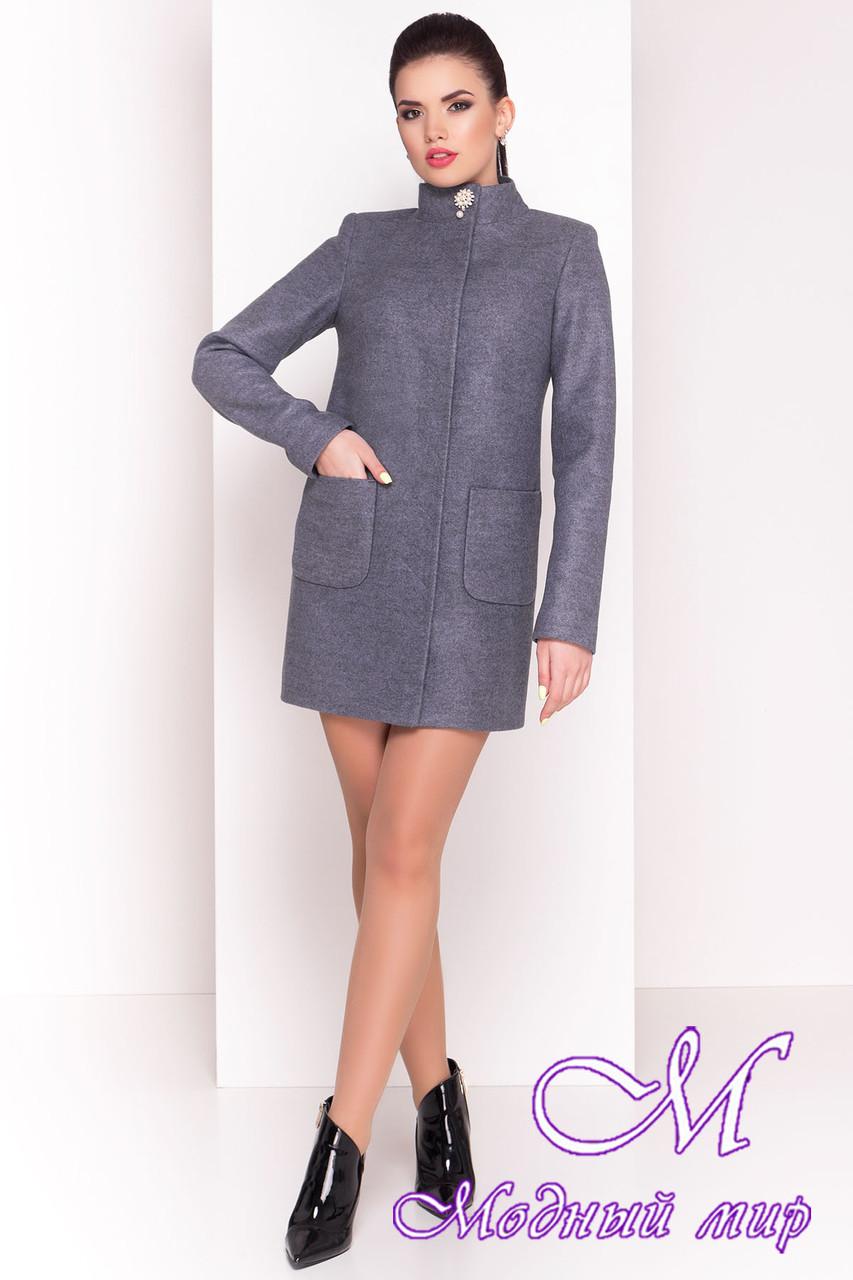 """Женское кашемировое короткое пальто (р. S, M, L) арт. """"Мелини 4378"""" - 21030"""