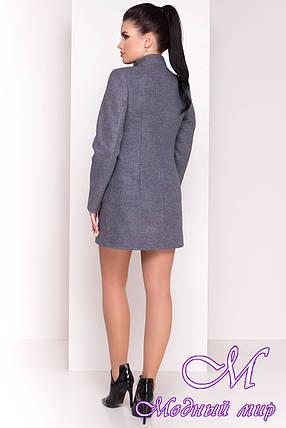 """Женское кашемировое короткое пальто (р. S, M, L) арт. """"Мелини 4378"""" - 21030, фото 2"""