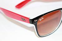 Солнцезащитные очки Ray Ban Wayfarer узкие Комбинированные