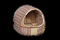 """Домик-лежак (лежанка) для домашних животных Мур-Мяу """"Комфорт Мини"""" Бежевый"""
