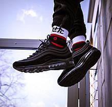 "Кроссовки Nike Air Max 97 SE ""Black"". Рефлективные., фото 3"