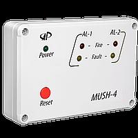МУШ-4 Приемник тревожных извещаний от извещателей типа ИП-2.4