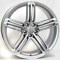 Литые диски WSP Italy Audi (W560) Pompei R18 W8 PCD5x112 ET31 DIA66.6 (matt gun metal)