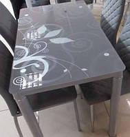 Кухонный стол Damar 80х60 см серый