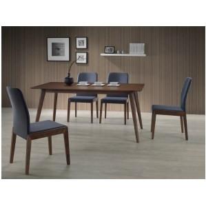 Стол обеденный деревянный BRANDO орех Signal