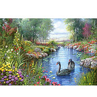 """Пазлы Castorland 1500 эл. 151042 """"Черные лебеди"""""""
