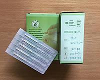 Иглы акупунктурные 0,30*30 для иглоукалывания с посеребренной ручкой стерильные 100 шт