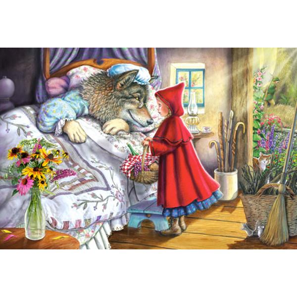 """Пазлы Castorland 40 эл. 040070 maxi  """"Красная Шапочка"""""""