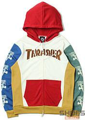 Худи Thrasher White/Red (ориг.бирка)