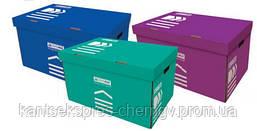 Коробка Buromax BM3270 для архивных коробов, картон,в ассорт.