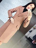 """Женское кашемировое пальто до колен """" Виктория """", фото 1"""