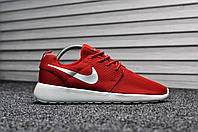 Nike Roshe Run Silver Red