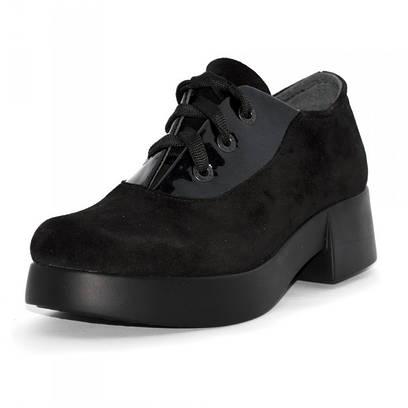 Туфли женские замшевые 6013